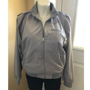 Vintage 80's jacket grey Large Haband windbreaker